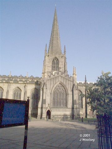 Sheffield Cathedral - Click to enlarge