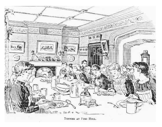 Page Hall Orphans at Dinner (1897)  - Courtesy of Lyn Howsam