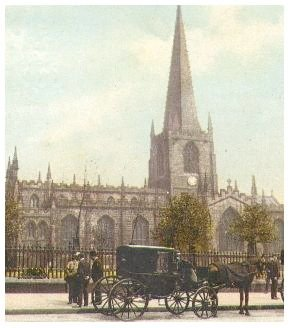 Sheffield Parish Church, Cathedral