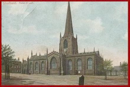 Sheffield Parish Church (Cathedral) - courtesy of Jan Perkins